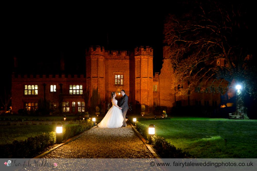 Real Wedding | Leez Priory Lisa & Keith's winter wedding