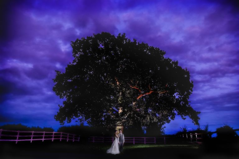 magical outdoor wedding at Milling Barn