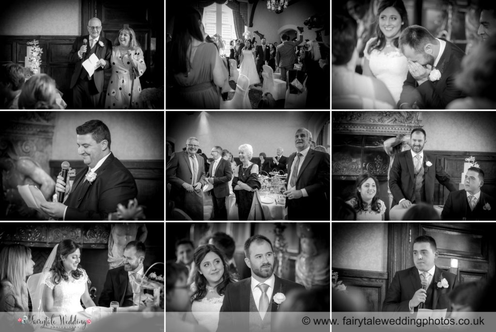 Wedding speeches at Gryms Dyke Country House
