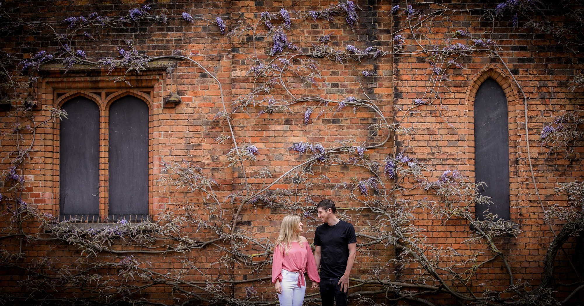Amy + Rob's Engagement Shoot | Hatfield House