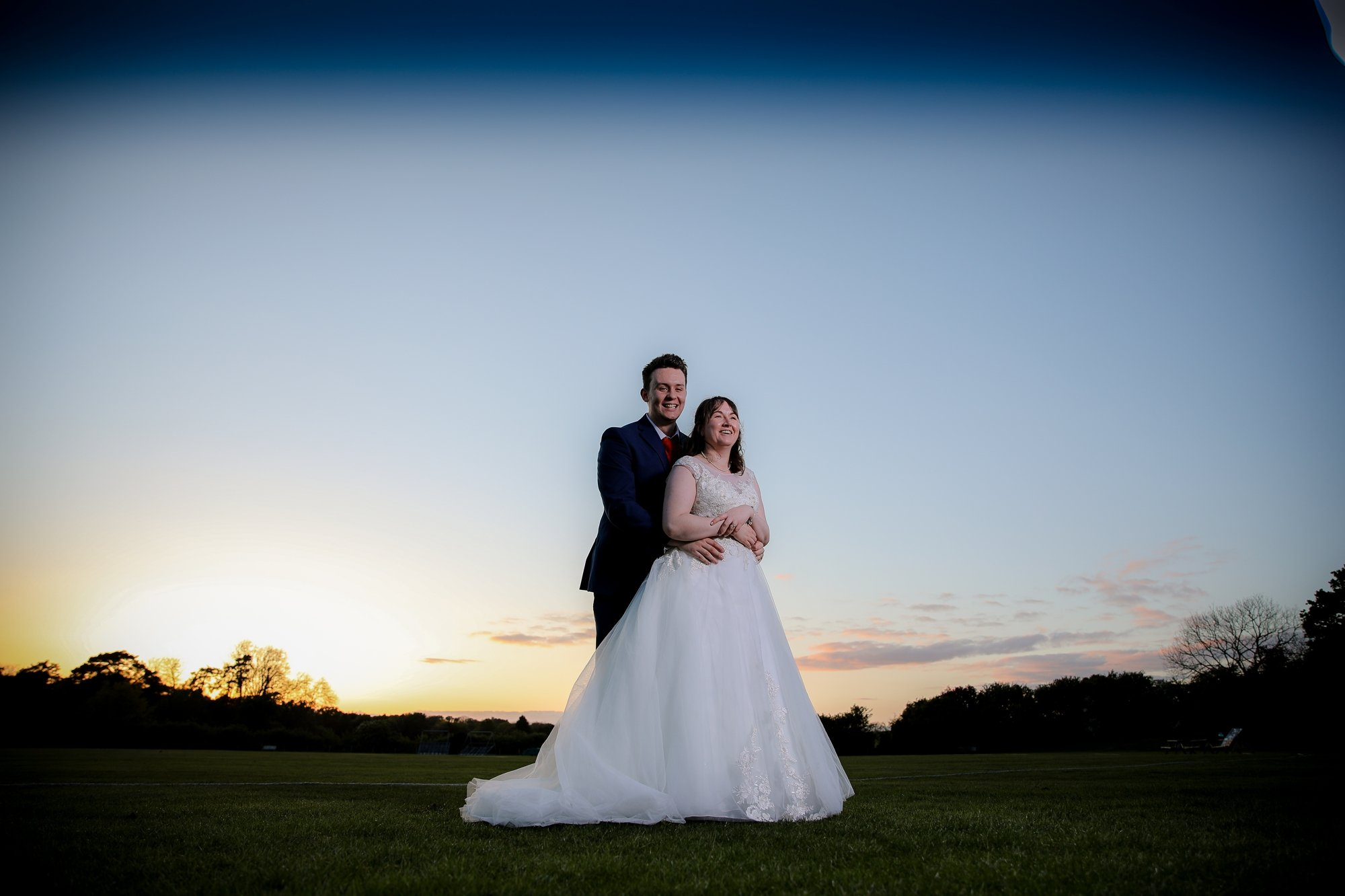 Emily + Tim's Spring Wedding | Shenley Cricket Centre.