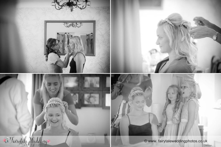 Bridal prep Old Chapel Amersham
