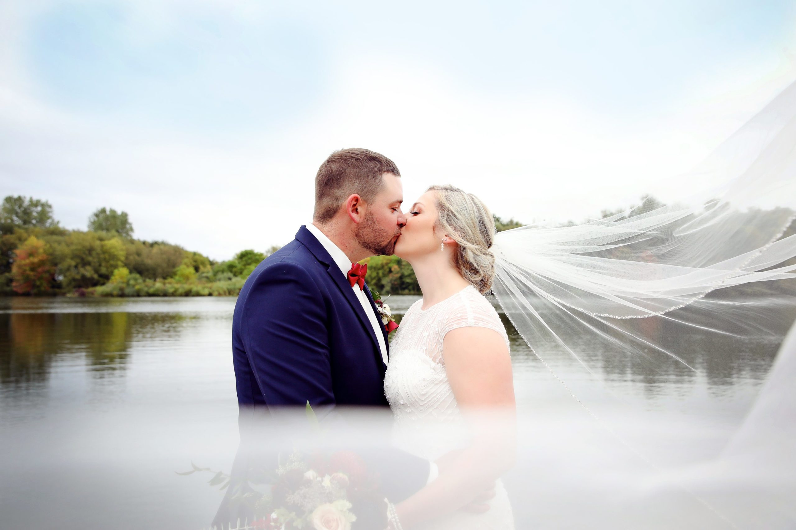 Going the extra mile for Georgie + Steve's Wedding