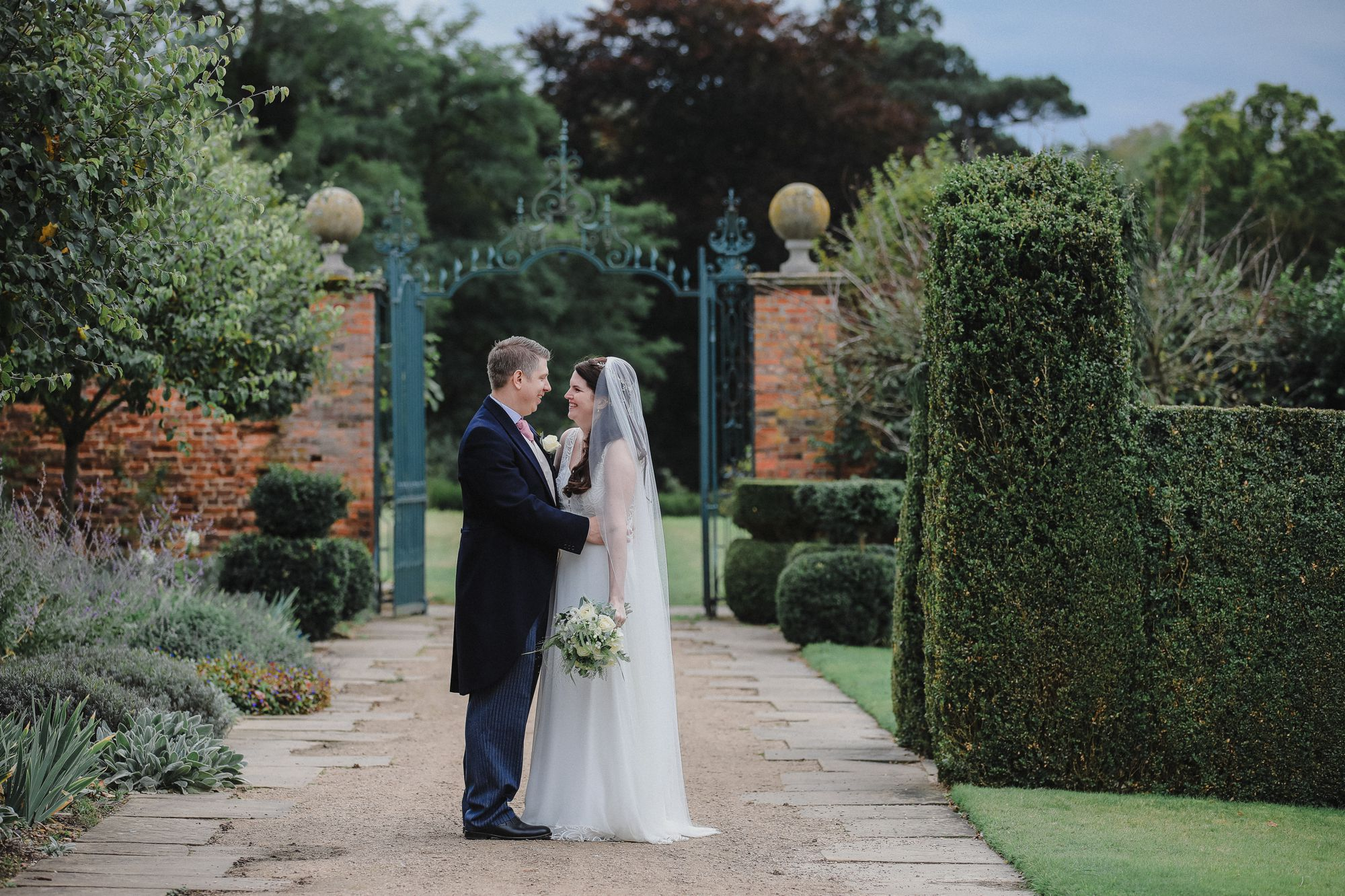Hatfield House Autumn Wedding
