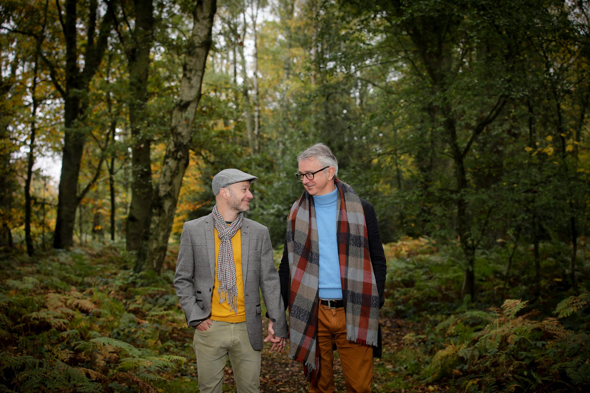 Autumn Pre-Wedding Photo shoot | Mike + Grant
