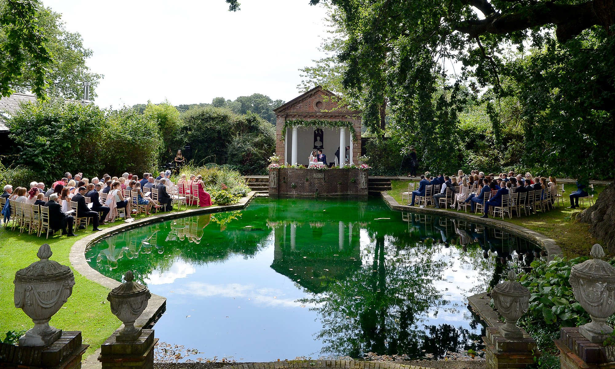 Outdoor Wedding Ceremony Venues Hertfordshire