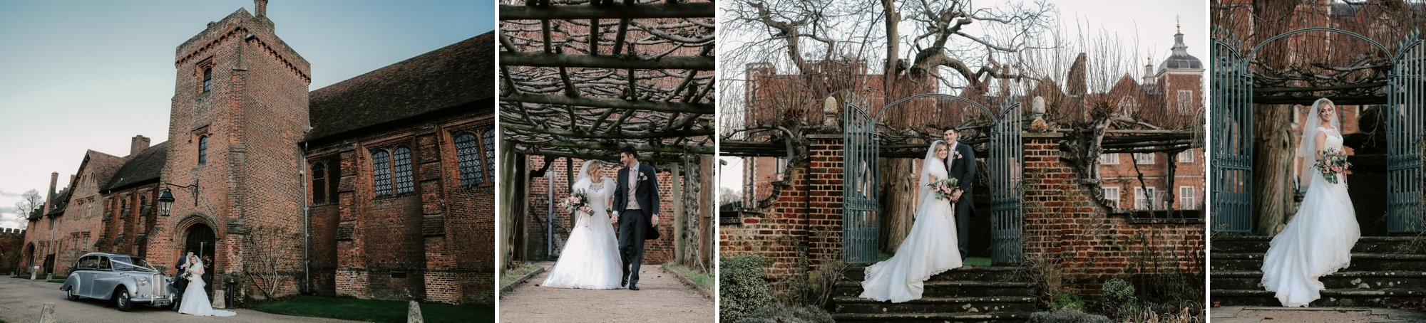 Winter wedding Hatfield House