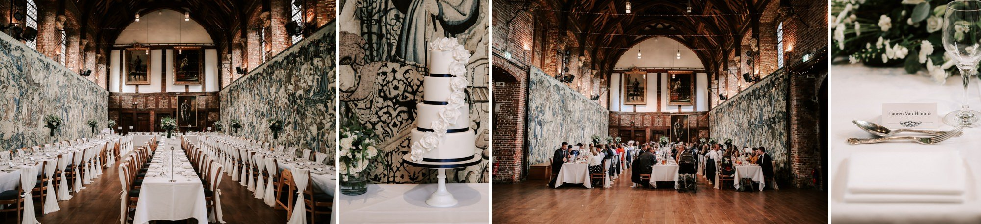 Autumn wedding Hatfield House
