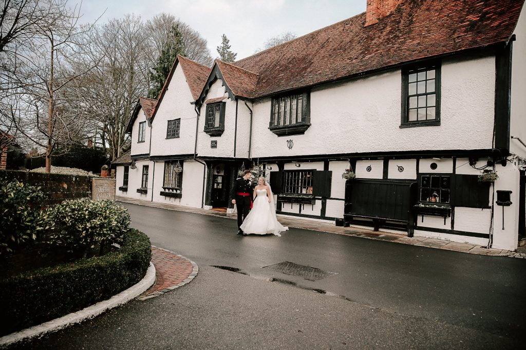 Wedding at the Olde Bell Hurley